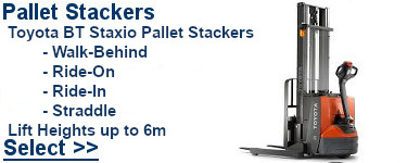 Select Toyota PalletStackers