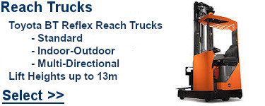 Select Toyota Reach Trucks